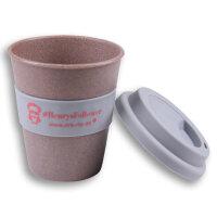 Kaffeebecher mit Silikondeckel