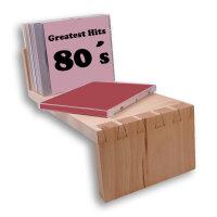 CD-Regal aus Holz
